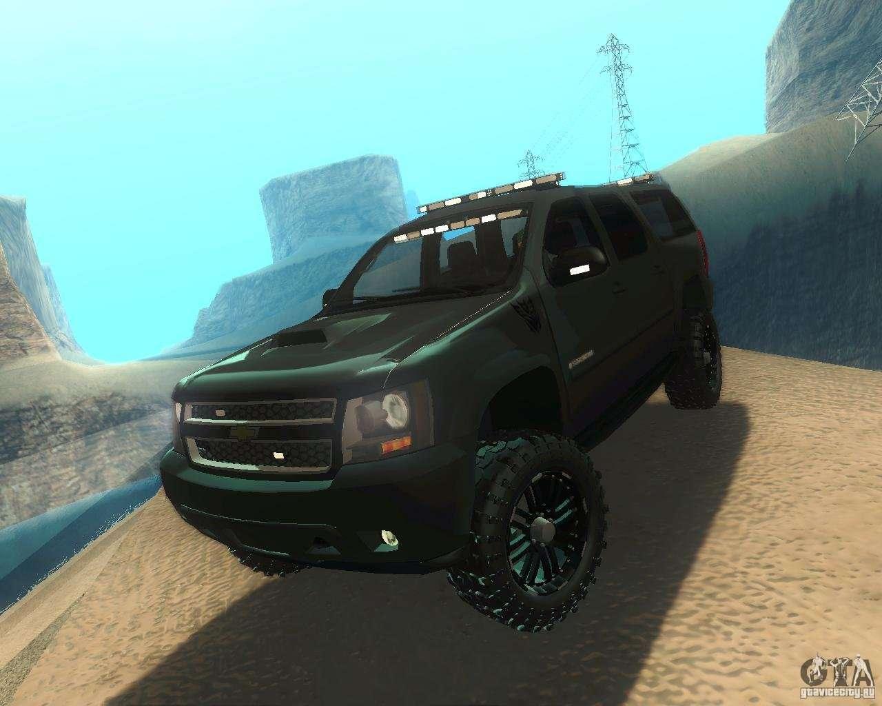 Chevrolet Suburban Lax Airport Police For Gta San Andreas: Chevrolet Suburban Crankcase Transformers 3 для GTA San