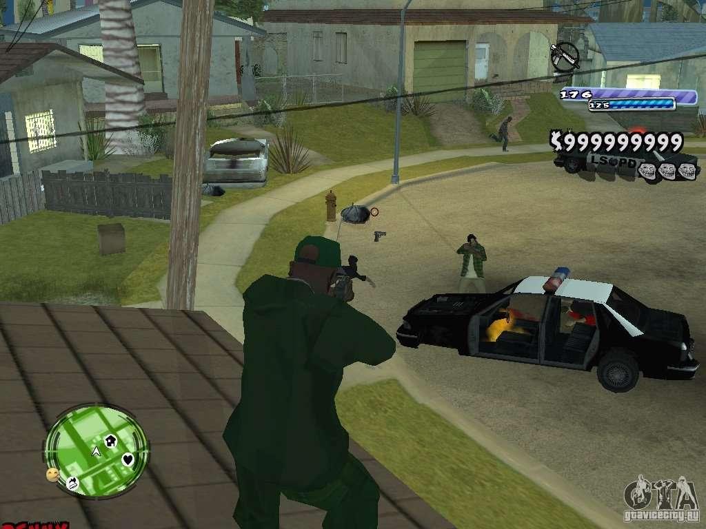 Скачать игры GTA San Andreas через Зону