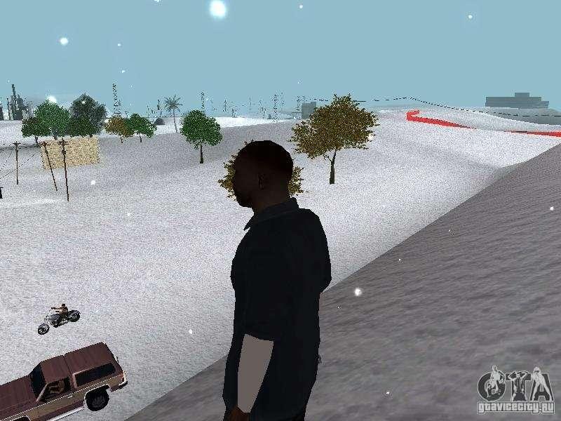 скачать мод на снег на Gta San Andreas - фото 10