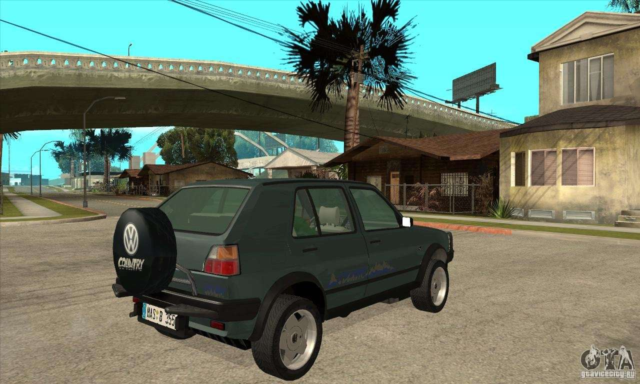 volkswagen golf country mkii syncro 4x4 1991 gta san andreas. Black Bedroom Furniture Sets. Home Design Ideas
