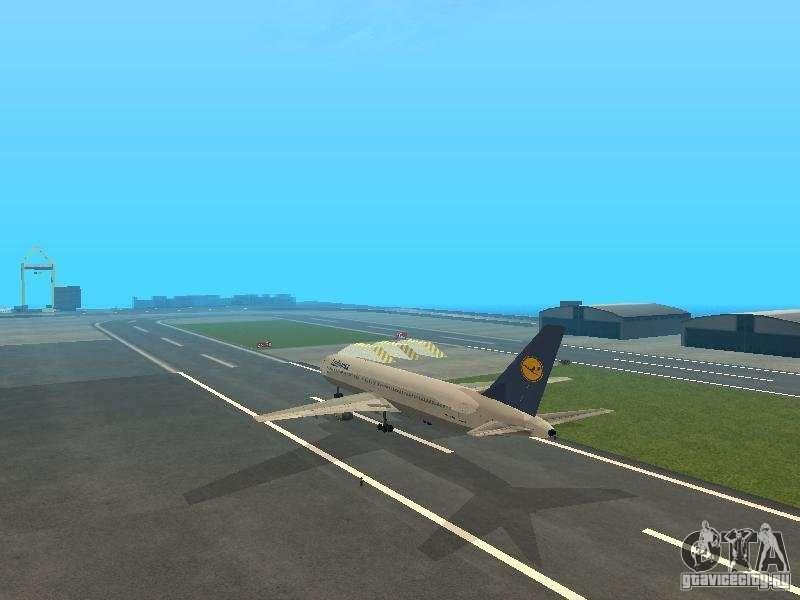 Boeing 767 300 Lufthansa Gta San Andreas