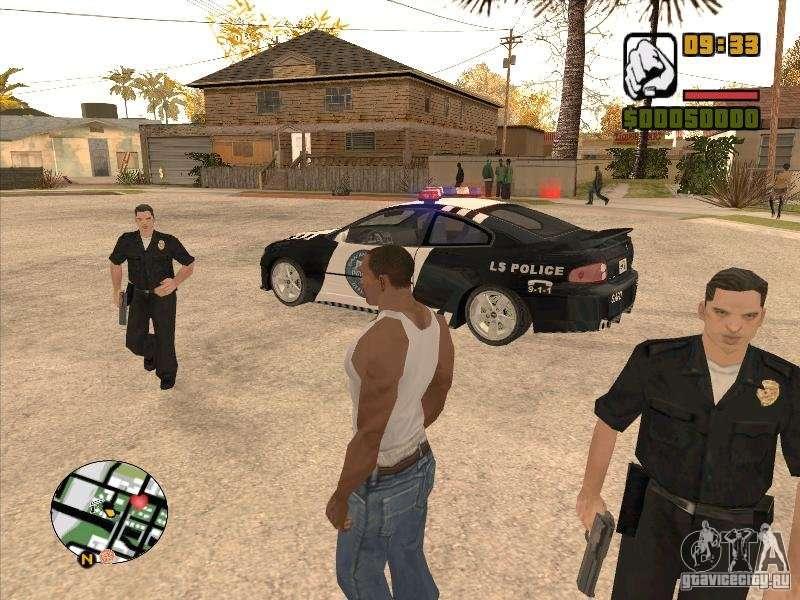 скачать мод на гта сан андреас на одежду полицейского - фото 5