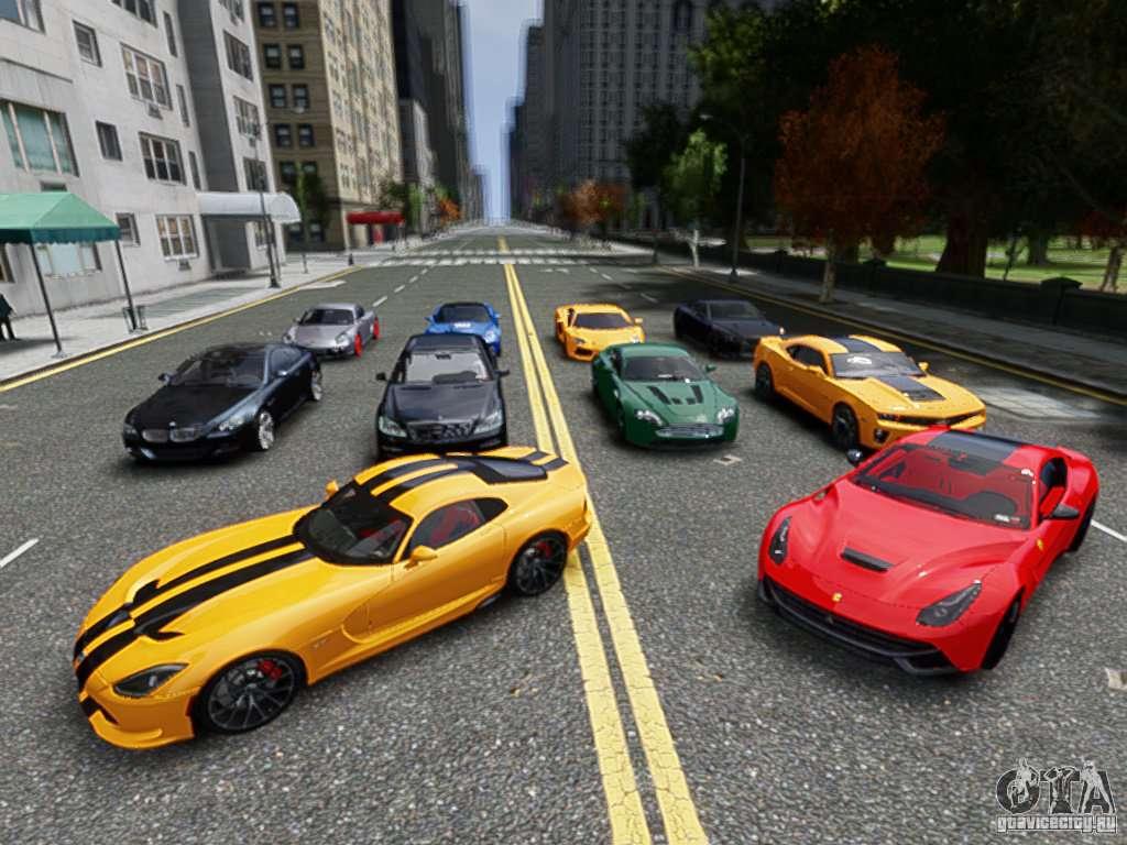 Скачать Стандартный Пак Машин в GTA 4