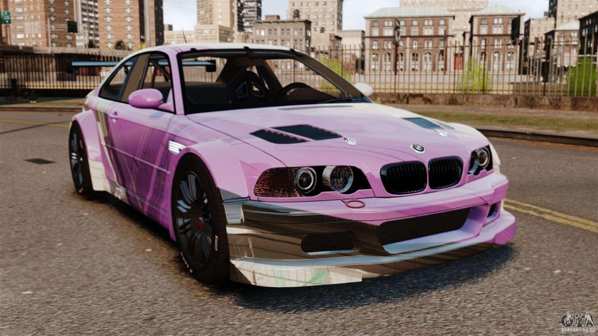 BMW M3 GTR MW 2012 для GTA 4