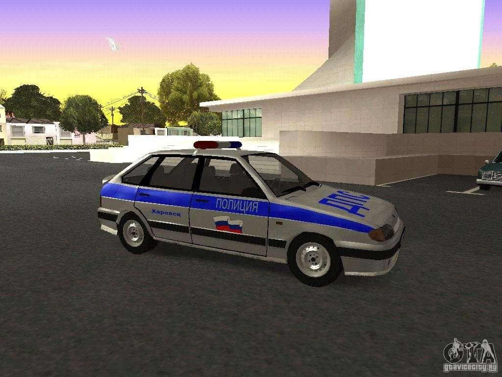 скачать мод на гта санандрес на машины полиции - фото 10
