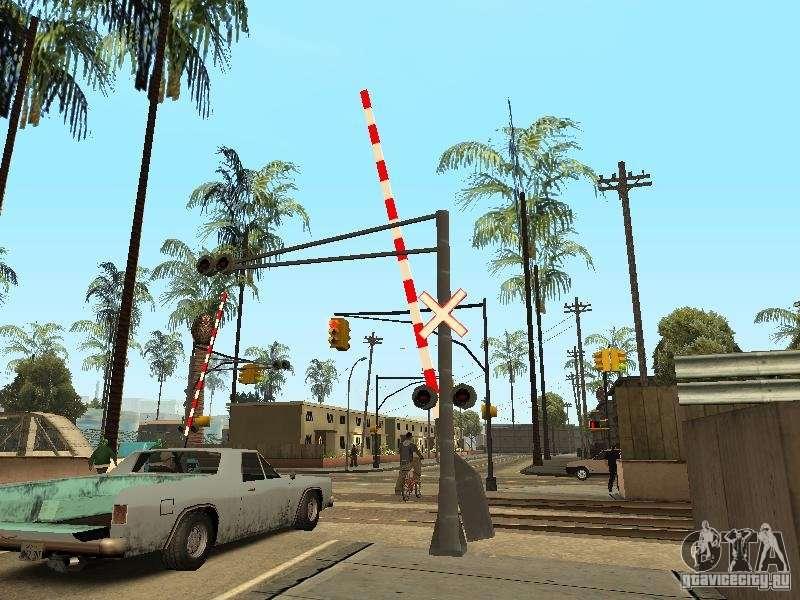 ЖД переезд RUS V 2.0 для GTA San Andreas