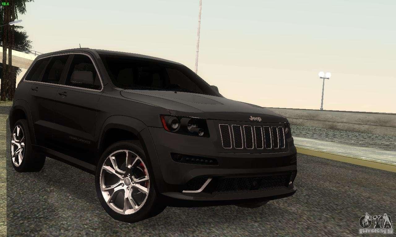 Jeep grand cherokee srt8 фото