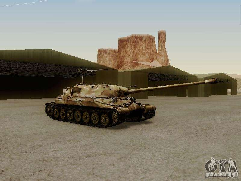 Скачать мод на танк ис 3 для гта сан андреас