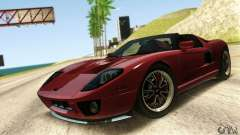 Ford GTX1 Roadster V1.0 для GTA San Andreas