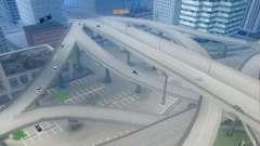 Бетонные дороги Лос-Сантос Beta для GTA San Andreas