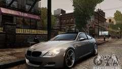 BMW M6 Coupe E63 2010 для GTA 4