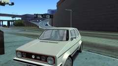 Volkswagen Golf MK 1 GTI для GTA San Andreas