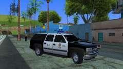 Chevrolet Suburban Los Angeles Police для GTA San Andreas