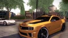 Chevrolet Camaro 2SS 2012 Bumblebee Transformers 3 для GTA San Andreas