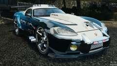 Dodge Viper SRT-10 ACR ELITE POLICE [ELS] для GTA 4