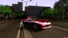 Dodge Viper GTS Coupe TT Black Revel для GTA San Andreas