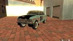 Москвич 412 Rally Version для GTA San Andreas