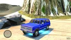 Chevrolet Suburban 1986 для GTA 4