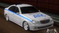 MERCEDES BENZ E500 w211 SE Police Россия для GTA San Andreas
