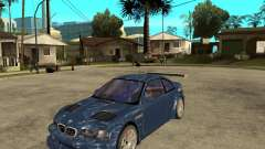 BMW M3 GTR из Need for Speed Most Wanted