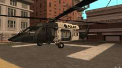 Black Hawk from BO2 для GTA San Andreas
