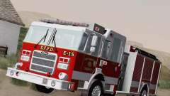 Pierce Pumpers. San Francisco Fire Departament Engine 15 для GTA San Andreas