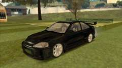 Honda Civic Coupe 1995 from FnF 1 для GTA San Andreas
