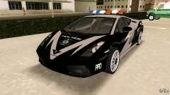 Lamborghini Gallardo Police для GTA Vice City
