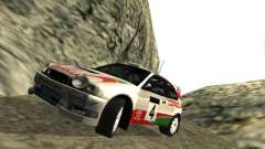 Toyota Corolla 1999 Rally Champion для GTA San Andreas
