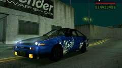 Toyota Trueno AE86 V3.0 для GTA San Andreas