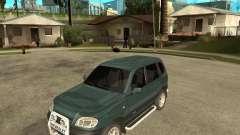 NIVA Chevrolet для GTA San Andreas
