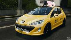 Peugeot 308 GTi 2011 Taxi v1.1