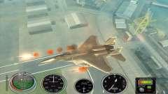 Ракеты быстрого запуска для Hydra и Hunter для GTA San Andreas