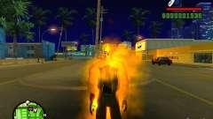 Ghost Ryder Skin для GTA San Andreas