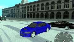Mitsubishi Lancer Evolution 8 FQ400 для GTA San Andreas