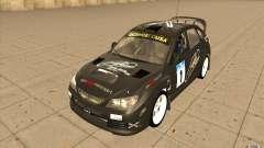 Subaru Impreza WRX STi с новыми винилами