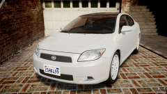 Toyota Scion tC 2.4 Stock для GTA 4