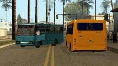 Маршрутка Богдан A092 для GTA San Andreas