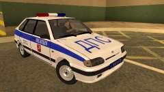 ВАЗ 2114 Милиция для GTA San Andreas