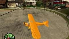 Piper J-3 Cub для GTA San Andreas
