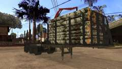 Прицеп МАЗ 99864 для GTA San Andreas