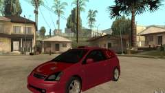 Honda Civic Type R бордовый для GTA San Andreas