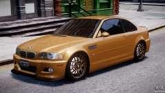 BMW M3 E46 Tuning 2001 v2.0 для GTA 4