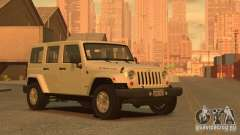 Jeep Wrangler Unlimited Rubicon 2013 для GTA 4