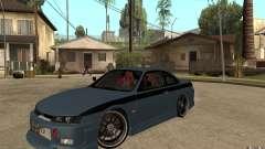 Nissan Silvia S14 бирюзовый для GTA San Andreas
