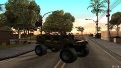 Hummer H1 Humster для GTA San Andreas
