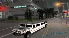 HUMMER H1 limousine для GTA Vice City