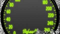 Спидометр IV (Скин 7) для GTA 4