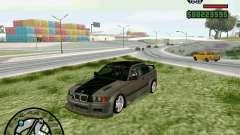 BMW E36 Wide Body Drift для GTA San Andreas