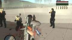 Разнообразное оружие у спецназа